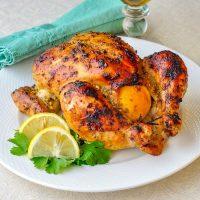 Roasted Chicken Garlic and lemon